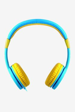 Astrum HS150 On The Ear Kids Wired Headphones (Star Blue)