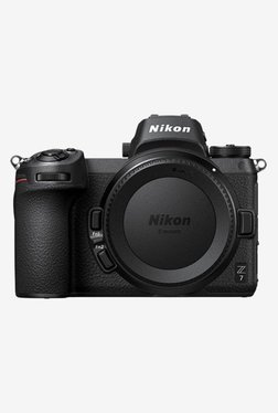 Nikon Z7  Body Only  Mirrorless Camera with 64 GB XQD Card   Jealiot Runner 0704 Bag  Black  Nikon Electronics TATA CLIQ