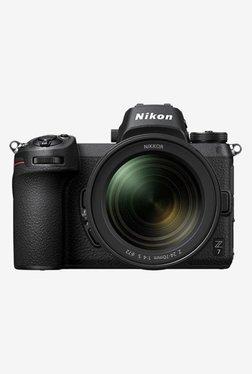 Nikon Z7 (24 - 70 mm) Mirrorless Camera 128GB Card + Camera Bag (Black)