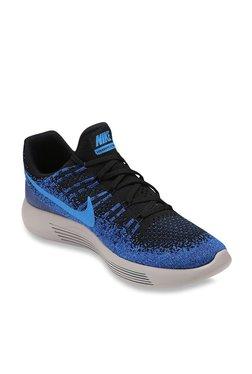 Nike Lunarepic Low Flyknit 2 Blue & Black Running Shoes