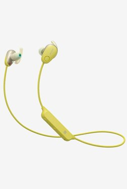 Sony WI-SP600N Bluetooth Earphone with Microphone (Yellow)