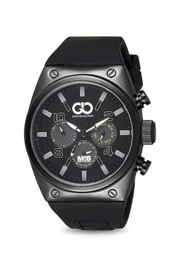 Gio Collection AD-0044-B Men In Black Analog Watch For Men