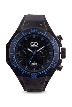 Gio Collection AD-0051-B Men In Black Analog Watch For Men