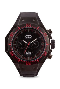 Gio Collection AD-0051-A Men In Black Analog Watch For Men
