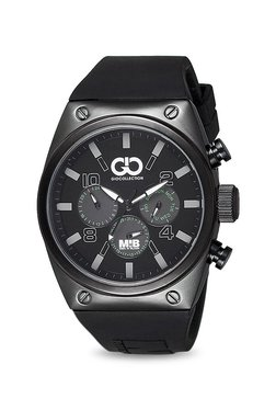 Gio Collection AD-0044-D Men In Black Analog Watch For Men
