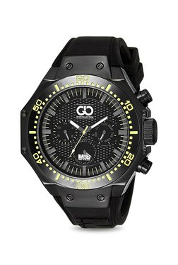 Gio Collection AD-0051-E Men In Black Analog Watch For Men