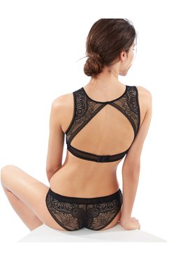 ETAM Paris Black Lace Non Padded Bra 159dd5512