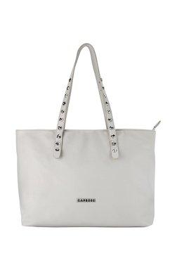 Caprese Merona White Solid Shoulder Bag
