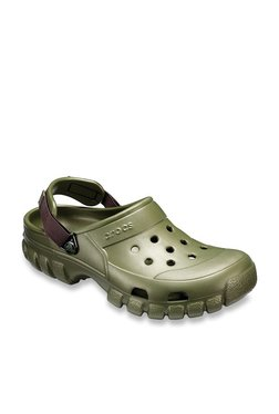 34200972e Crocs Offroad Sport Olive Back Strap Clogs