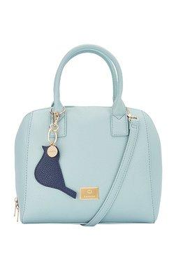 Caprese Ruby Sky Blue Solid Handbag