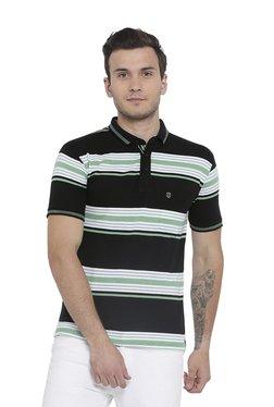 Duke Green & Black Short Sleeves Polo T-Shirt