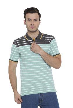 Duke Sea Green Short Sleeves Polo T-Shirt