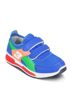 6a5ac21eee07 Kitten Kids Blue Velcro Shoes
