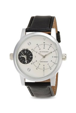 Giordano 60056 DTL White (P3055) Analog Watch For Men