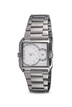 Giordano 60074 DTM White Analog Watch For Men