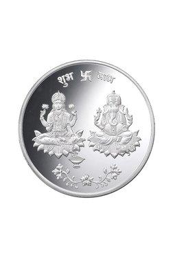 Taraash Lakshmi Ganesha 999 10 Gm Silver Coin