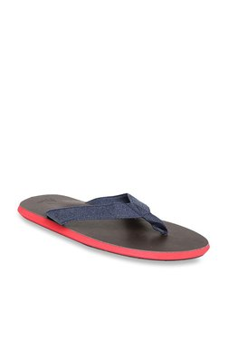 United Colors Of Benetton Navy & Brown Flip Flops - Mp000000003727355