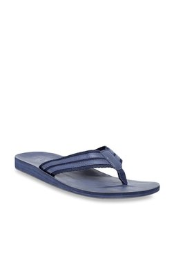 United Colors Of Benetton Navy Blue Flip Flops