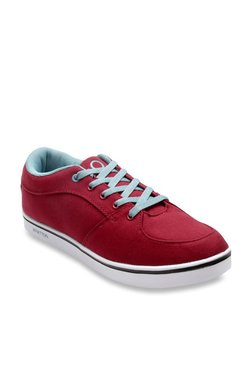 United Colors Of Benetton Red Casual Sneakers