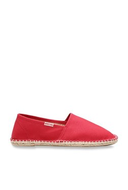 United Colors Of Benetton Red Espadrille Shoes