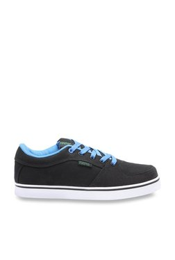 United Colors Of Benetton Black & Blue Casual Sneakers