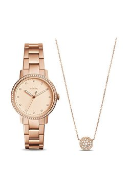 Fossil ES4330SET Neely Analog Watch For Women With Jewellery Box Set