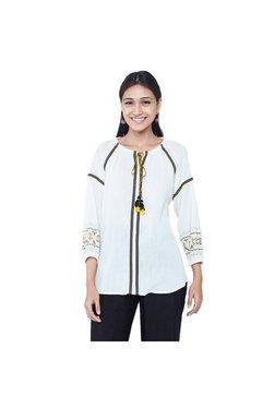 600eafde7b7 Buy Global Desi Tops & Tunics - Upto 70% Off Online - TATA CLiQ
