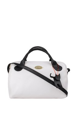 St.Holii By Holii Holly 02 Black & White Solid Sling Bag