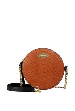 St.Holii By Holii Blush 01 Tan Textured Sling Bag