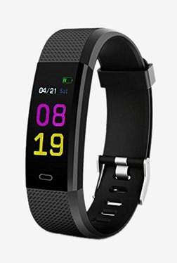 Bingo F0S LCD Smart Fitness Band (Black)