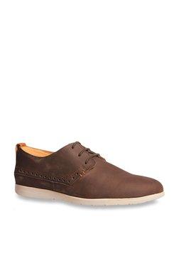 4daae16a4955 Hush Puppies by Bata Brown Derby Shoes