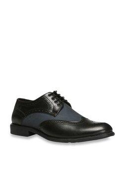 Bata Black Brogue Shoes