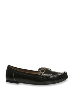 e1d92c97c Footin by Bata Black Casual Loafers