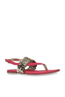 8e2b9d45477d Footin by Bata Pink Back Strap Sandals