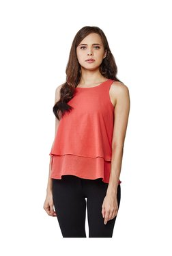 AND Coral Cotton Top