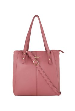 Lavie Mauve Pink Solid Shoulder Bag