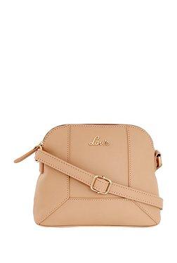Lavie Nude Panelled Sling Bag