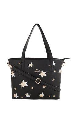 Lavie Black & White Printed Shoulder Bag