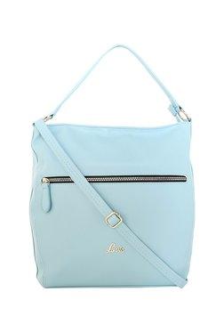 Lavie Blue Solid Hobo Shoulder Bag