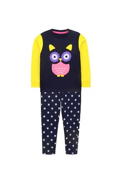 6643990060 Cherry Crumble California Kids Multicolor Applique Sweatshirt With Pants
