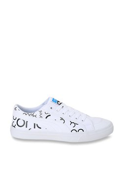 8d97fefbab2 Puma One8 White Sneakers