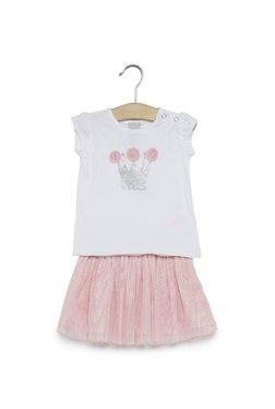 9ef127cc01d Baby HOP by Westside Pink Top And Skirt Set