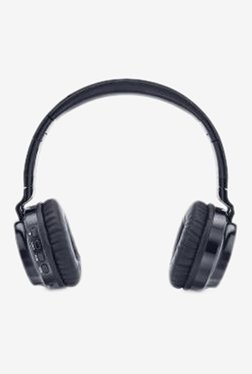iBall Breathe-M Over The Ear Bluetooth Headphone with Mic (Black)
