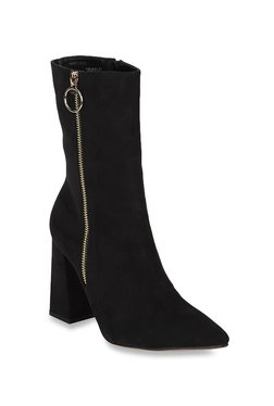70b4e7983b20 Truffle Collection Black Casual Booties
