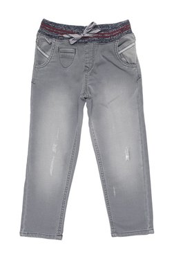 46c2e900fb43a Tales   Stories Kids Grey Distressed Jeans