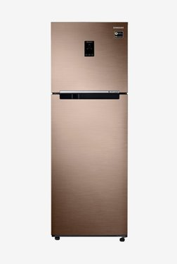 Samsung 345 L Inv 3S  2019  Frost Free Double Door Refrigerator  Refined Bronze, RT37M5538DP/HL  Samsung Electronics TATA CLIQ