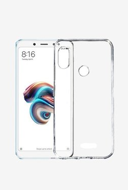 Parallel Universe Ultra Clear Back Cover Case For Xiaomi Redmi Note 5 Pro (Transparent)