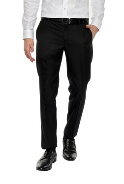 39fac23d7a60 Formal Trousers For Men | Buy Pants For Men Online In India At Tata CLiQ