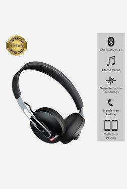 Portronics Muffs L POR 894 Bluetooth Headphone with Mic.(Black)