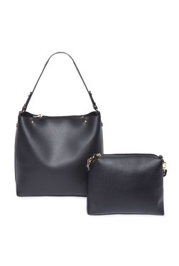 6d82fe8330e0 LOV by Westside Black Hobo Bag With Pouch
